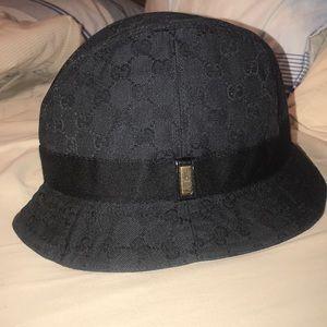 Black Gucci Bucket Hat